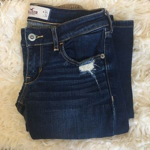 CLEARANCE Hollister Dark Wash Bootcut Jeans
